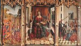 Fernando Gallego Triptych of St Catherine painting